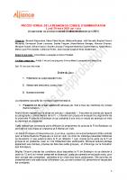 Procés verbal CA 29 mars 2021 en attente