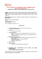 Procès verbal CA 9 juin 2021 en attente approbation
